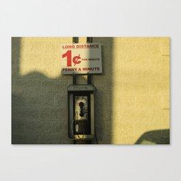 Long distance  Canvas Print