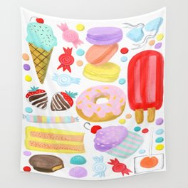 Sweet Treats Wall Tapestry