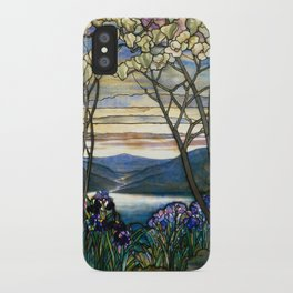 Louis Comfort Tiffany - Decorative stained glass 5. iPhone Case