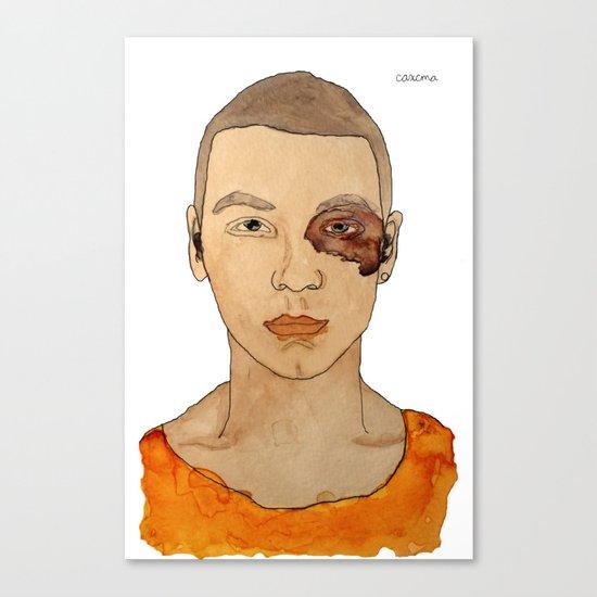 Bruised Thug Canvas Print