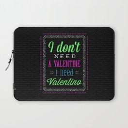 Fun Valentine Laptop Sleeve