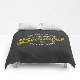 BEAUTIFUL IN TIME Comforters