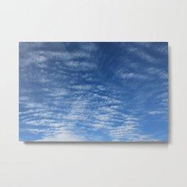Cloudy Sky / Cielo nublado Metal Print