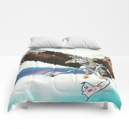 Birds In Armor 9 Comforters