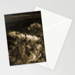 The storm of love Stationery Cards