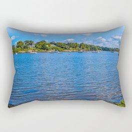 Mylor Walk - Restronguet Point Rectangular Pillow