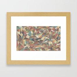 Tri-wangles  Framed Art Print