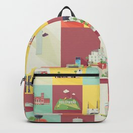 Los Angeles Landmarks Backpack