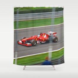 Fernando Alonso - 2013 Gran Premio d'Italia Shower Curtain