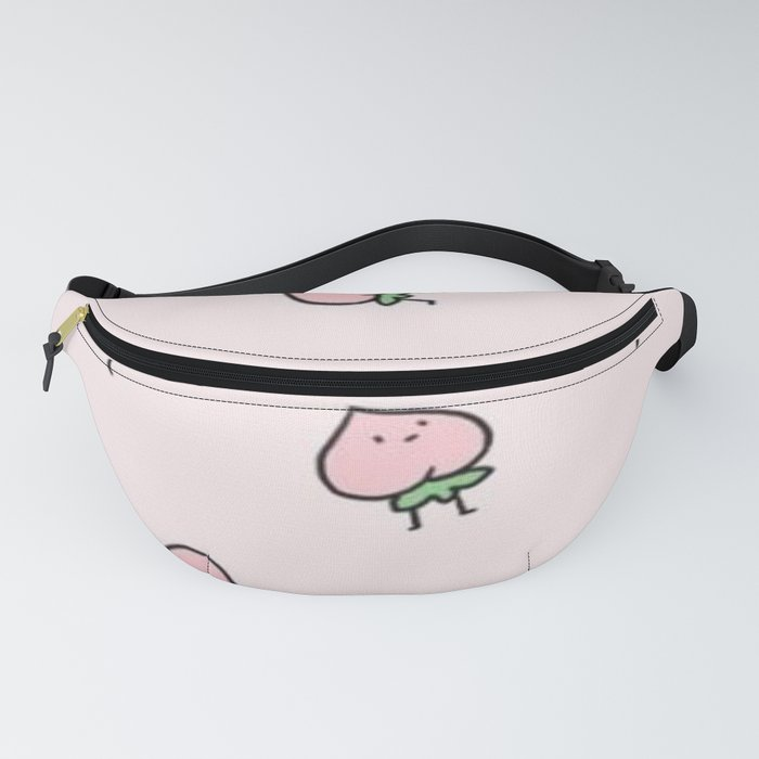 210368ffe940 Cute Peach Fanny Pack by nabily