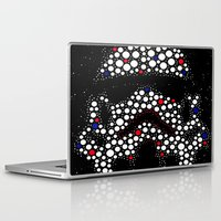 stormtrooper Laptop & iPad Skins featuring Stormtrooper by Saundra Myles