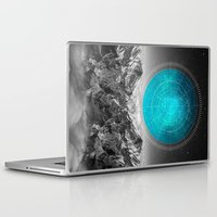 not all who wander Laptop & iPad Skins featuring Not All Those Who Wander by soaring anchor designs