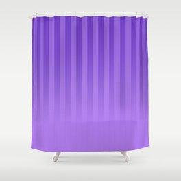 Gradient Stripes Pattern ip Shower Curtain
