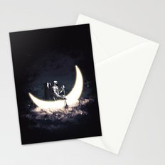Moon Sailing Stationery Cards