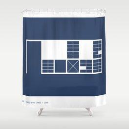Eames House Shower Curtain