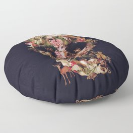 Jungle Skull Floor Pillow