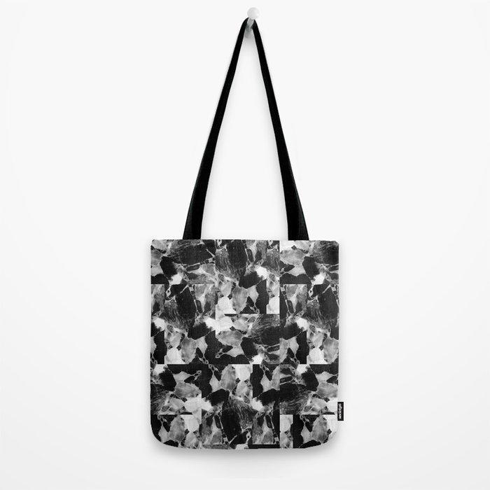 smplmag marble pattern Tote Bag