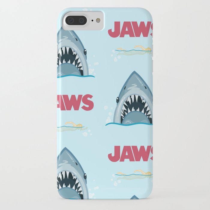 Shark Pattern no.1 iPhone Case
