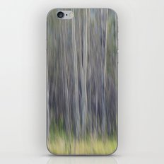 Birch Blurs iPhone & iPod Skin