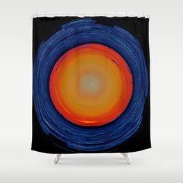 Circular Sunset Shower Curtain