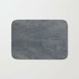 Slate Gray Stucco - Faux Finishes - Rustic Glam Bath Mat