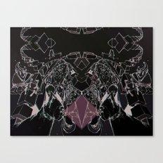 skitzo cat Canvas Print