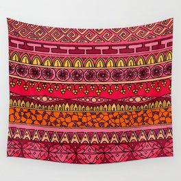 Yzor pattern 013 Summer Sunset Wall Tapestry