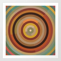mod Art Prints featuring Mod  by Lori Wemple