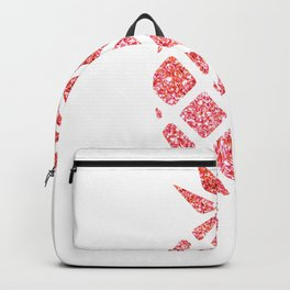 Colorful Pineapples Pink Backpack