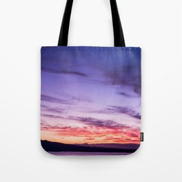 Auckland Sunset Tote Bag