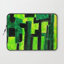 Three Green Puzzle Laptop Sleeve