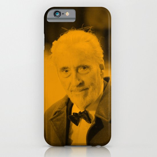 Christopher Lee iPhone & iPod Case