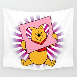 pooh lovers Wall Tapestry