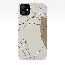 abstract nude 2 iPhone Case