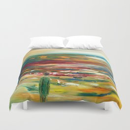 Blowing in the Wind Duvet Cover