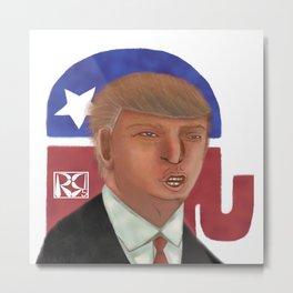 Donald Trump Caricature Metal Print