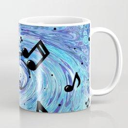 Musical Blue Coffee Mug