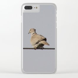 Dove Clear iPhone Case