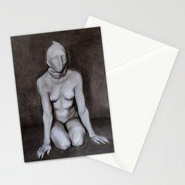 Asylum drawing Stationery Cards