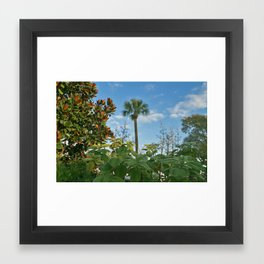 Au Natural? Framed Art Print