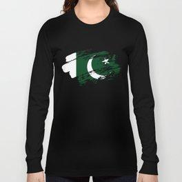 Pakistan Flag Tshirt Long Sleeve T-shirt