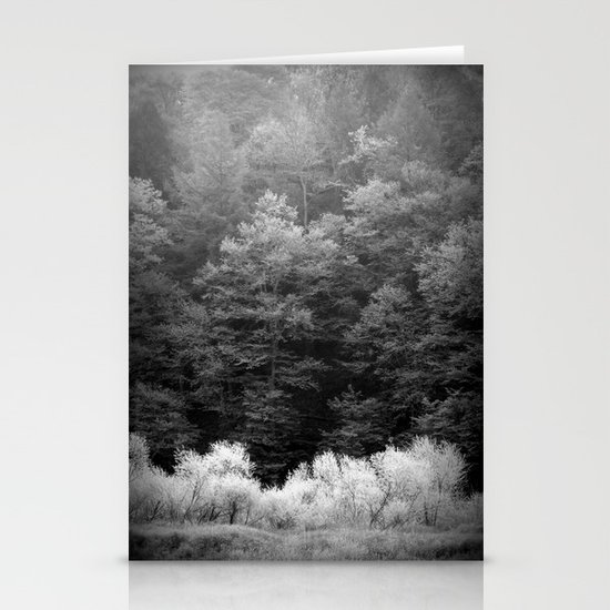 The Forest Keeps Secrets Stationery Cards