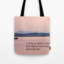 Set To Sail Tote Bag