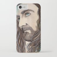 thorin iPhone & iPod Cases featuring Thorin by Kinko-White