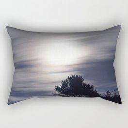 Full moon and clouds Rectangular Pillow