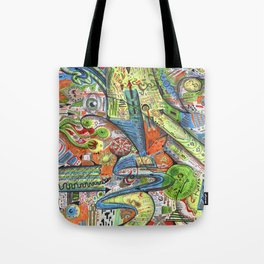 Madness Doodle Tote Bag