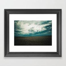 Montana Sky Framed Art Print