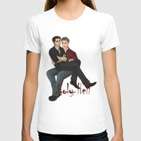destiel T-shirts featuring Demon destiel by Utrennyaya
