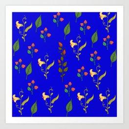 Flower Patterns5 Art Print