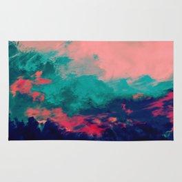 Painted Clouds IV Rug